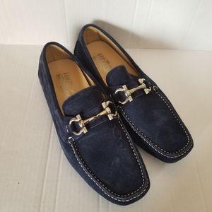 Men's Salvatore Ferragamo Suede Loafers